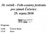 Folk country - Zámek Čečovice
