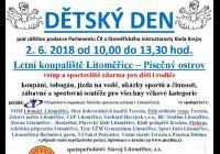 Den dětí - Písečný ostrov Litoměřice