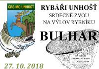 Výlov rybníka Bulhar - Unhošť