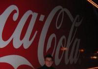 Vánoční kamion Coca Cola - Přelouč
