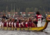 Závod dračích lodí na Kamencovém jezeře - Chomutov