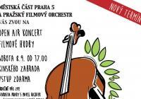 Open air koncert filmové hudby - Praha