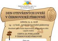 Den otevřených dveří v černovické pískovně - Brno