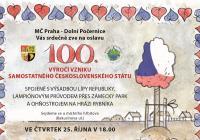Oslavy vzniku republiky s lampionovým průvodem - Praha Dolní Počernice