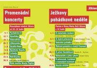 Promenádní koncerty a Ježkovy pohádkové neděle - Jihlava