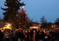 Rozsvícení vánočního stromu - Čáslav