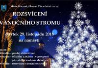Rozsvícení vánočního stromu - Moravský Beroun