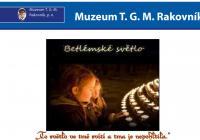 Betlémské světlo - Muzeum T. G. Masaryka v Lánech