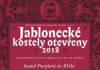 Jablonecké kostely otevřeny