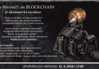 Přednáška - Ne bitcoin!!! ale Blockchain je ekonomická revoluce