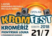 Kromfest 2018 - open-air festival pro celou rodinu