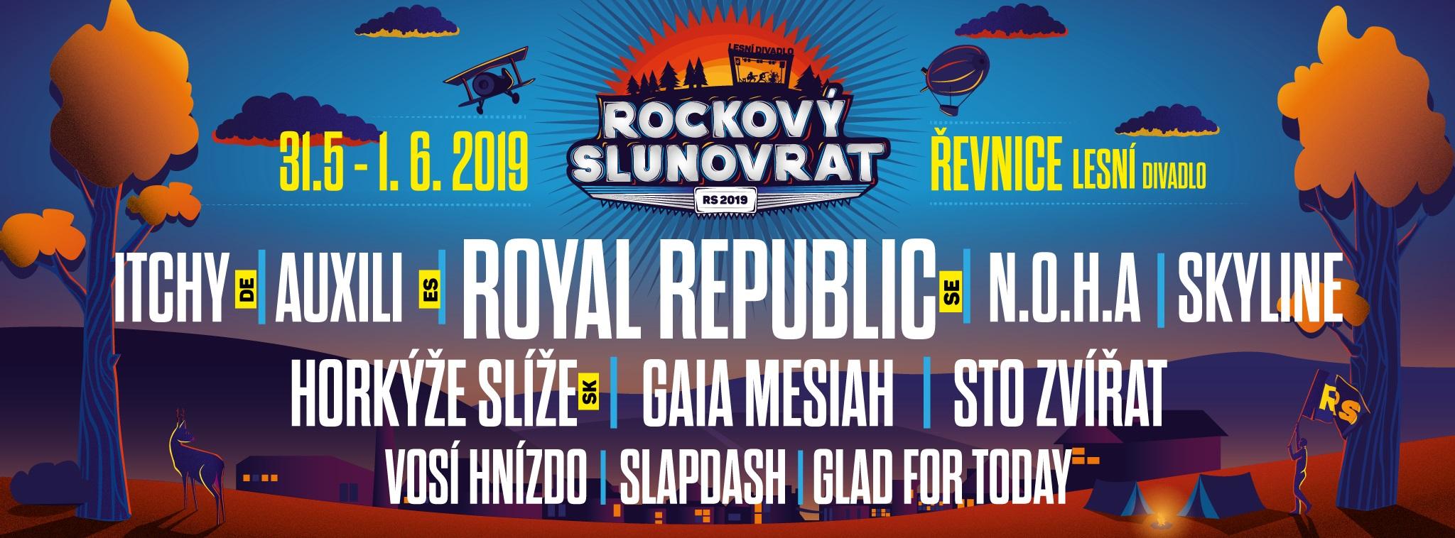 Festival Rockový Slunovrat 2018