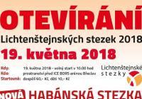 Otevírání Lichtenštejnských stezek - Břeclav