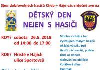 Dětský den nejen s hasiči - Hřiště v Hájích Cheb