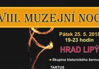 Muzejní noc na hradě Lipý