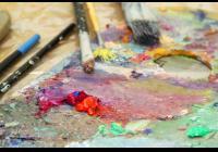 Dopolední prázdninový kurz malby akrylovými barvami