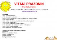 Charitativní akce Vítání prázdnin 2018