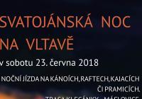 Svatojánská noc na Vltavě - Máslovice