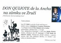 Divadelní představení - Zámek Zruč nad Sázavou