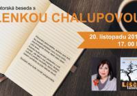 Beseda se spisovatelkou Lenkou Chalupovou
