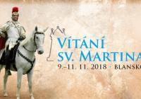 Vítání sv. Martina v Blansku