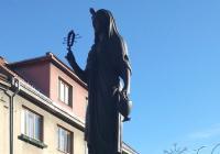 Socha bohyně Eset, Třešť