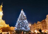 Rozsvícení vánočního stromu - Pardubice
