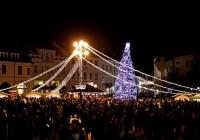 Rozsvícení vánočního stromu - Uherské Hradiště