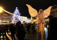 Mikulášský rej na náměstí v Uherském Hradišti