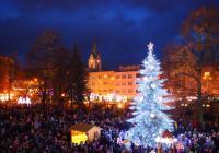 Rozsvícení vánočního stromu - Zlín
