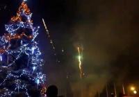 Rozsvícení vánočního stromu v Havířově