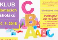 Klub domácích školáků se spisovatelkou Michaelou Mlíčkovou Jelínkovou
