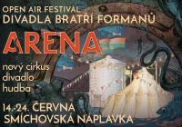 Open air festival Divadla Bratří Formanů ARENA 2018