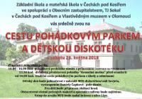 Cesta pohádkovým parkem - Zámecký park v Čechách pod Kosířem