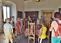Začátek školního roku na státním zámku Benešov nad Ploučnicí