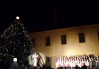Rozsvícení vánočního stromu - Litomyšl