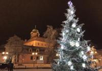 Rozsvícení vánočního stromu v Poděbradech
