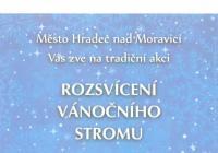 Rozsvícení vánočního stromu - Hradec nad Moravicí