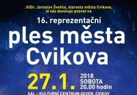 16. reprezentační ples města Cvikova