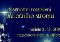 Rozsvícení vánočního stromu - Stříbro