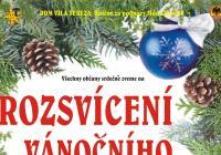 Rozsvícení vánočního stromu - Uničov