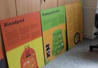 Výstava o třídění odpadu a kompostování