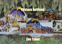 Táborská zoo vystavuje tři desítky betlémů