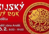 Asijský nový rok na Andělu - Praha