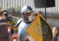 II. Středověké slavnosti Lužeckého Rytíře na Zámku Lužec