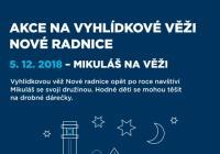 Mikuláš - Vyhlídková věž Nové radnice Ostrava