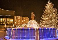 Vánoční trhy na náměstí v Mostě