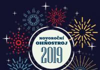 Novoroční ohňostroj - Velké Meziříčí