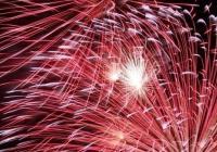 Novoroční ohňostroj - Smečno