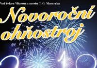 Novoroční ohňostroj - Kralupy nad Vltavou